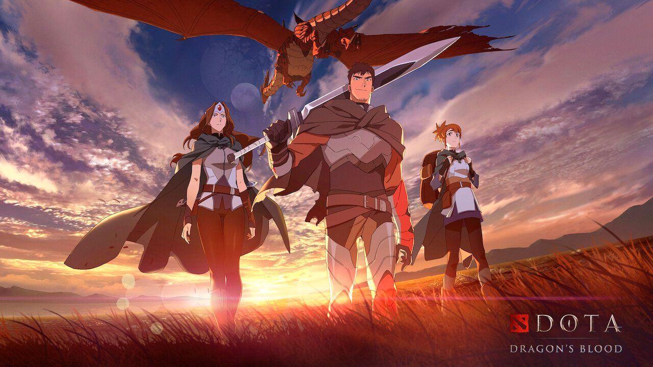 DOTA: Dragon's Blood gets new trailer