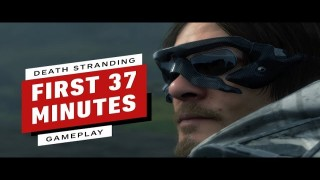 The First 37 Minutes of Death Stranding Gameplay (Captured in 4K)