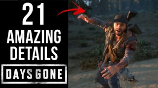 21 AMAZING Details in Days Gone